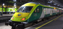 Getting to Cork English College, IELTS Test Centre and school language by train