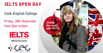 IELTS Open Day –  Friday 30th September