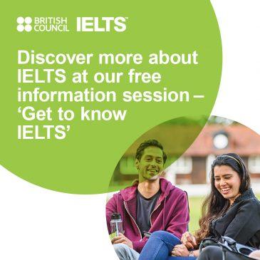 IELTS Information Sessions at CEC.