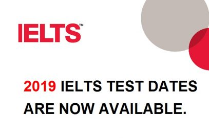 2019 IELTS test dates